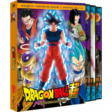 DVD DRAGON BALL SUPER BOX 9. LA SAGA DEL TORNEO DEL PODER