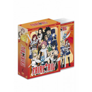 DVD PACK FAIRY TAIL COLECCIÓN COMPLETA