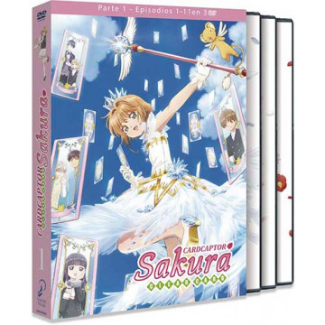 DVD CARD CAPTOR SAKURA CLEAR CARD (EPISODIOS 1 AL 11)