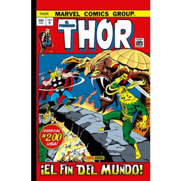 EL PODEROSO THOR 05: ¡EL FIN DEL MUNDO! (Marvel Gold Omnibus)