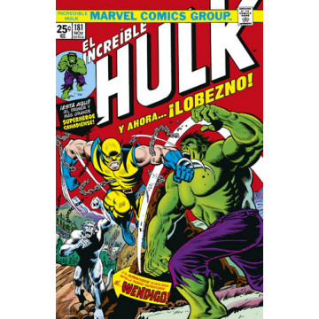 MARVEL FACSIMIL 01: THE INCREDIBLE HULK 181