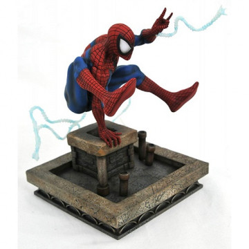FIGURA DIORAMA SPIDERMAN 90´S - DIAMOND SELECT