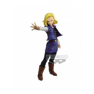 ANDROID 18 FIGURA 18 CM DRAGON BALL Z MATCH MAKERS