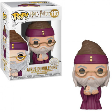 FIGURA DUMBLEDORE CON NIÑO (HARRY POTTER) - FUNKO POP