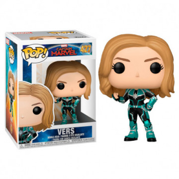 FIGURA VERS (CAPITANA MARVEL) - FUNKO POP