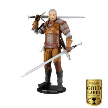 FIGURA GERALT OF RIVIA (THE WITCHER) - McFARLANE TOYS GOLD LABEL