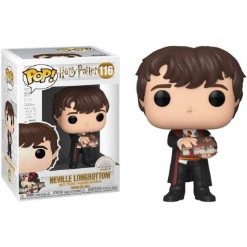 FIGURA NEVILLE W MONSTER BOOK (HARRY POTTER) -FUNKO POP
