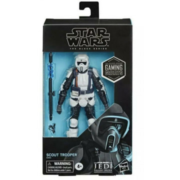 FIGURA SCOUT TROOPER (STAR WARS) - BLACK SERIES GAMING