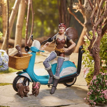 FIGURA SQUIRREL GIRL + MOTOCICLETA (MARVEL) - MARVEL LEGENDS