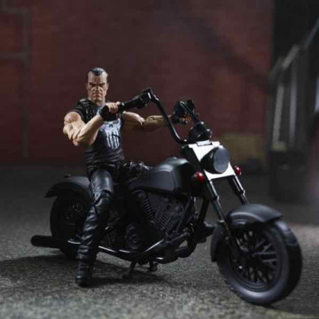FIGURA PUNISHER + MOTO (MARVEL) - MARVEL LEGENDS