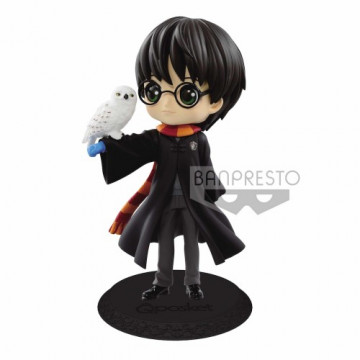 FIGURA HARRY POTTER CON HEDWIG NORMAL COLOR VERSION   HARRY POTTER Q POSKET