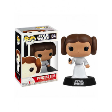 FIGURA PRINCESA LEIA (STAR WARS) - FUNKO POP BOBBLE HEAD