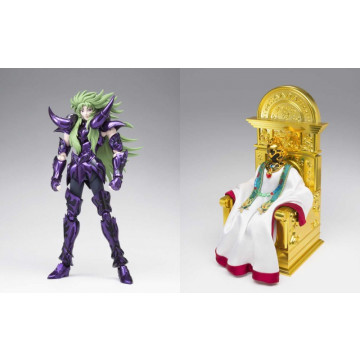 FIGURA SET SHION ARMADURA SURPLICE DE ARIES + PONTIFICE 18 CM (SAINT SEIYA) -MYTH CLOTH EX