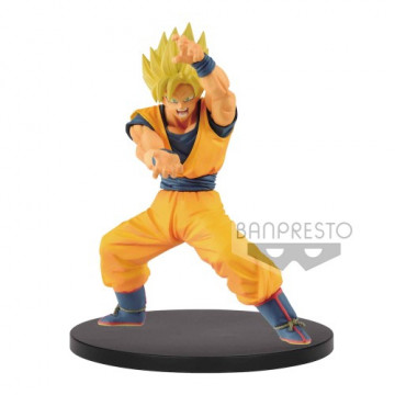FIGURA SON GOKU SUPER SAIYAN (DRAGON BALL SUPER) - CHOSENSHIRETSUDEN VOL. 1