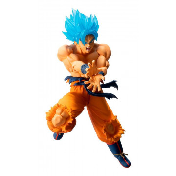 FIGURA SON GOKU SUPER SAIYAN GOD BLUE (DRAGON BALL) - ICHIBANSHO