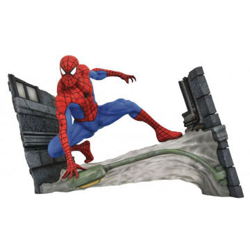 FIGURA SPIDERMAN WEBBING (MARVEL COMIC) GALLERY DIORAMA