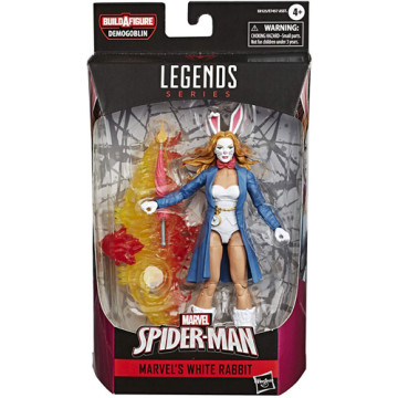 FIGURA WHITE RABBIT (SPIDERMAN) -  MARVEL LEGENDS
