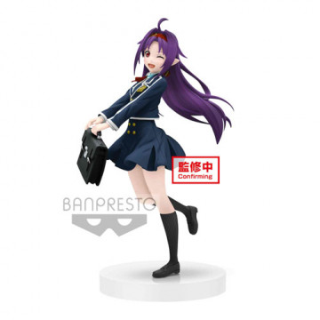 FIGURA YUUKI SCHOOL UNIFORM (SWORD ART ONLINE) - EXQ