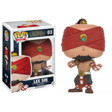 FIGURA POP! LEE SIN (LEAGUE OF LEGENDS)