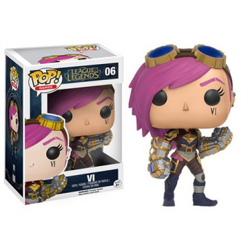 FIGURA POP! VI (LEAGUE OF LEGENDS)