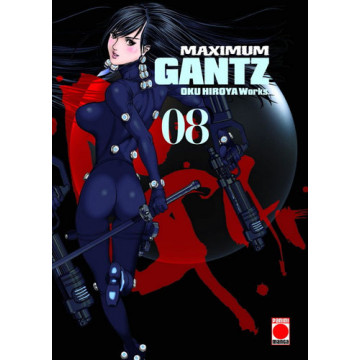 GANTZ (ED. MAXIMUM) Nº 08