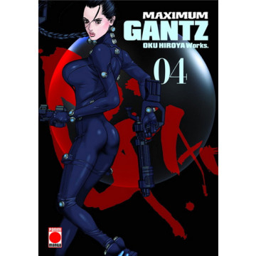 GANTZ (ED. MAXIMUM) Nº 04