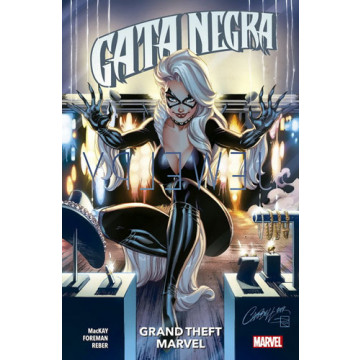 GATA NEGRA 01: GRAND THEFT MARVEL