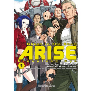 GHOST IN THE SHELL ARISE 01 (de 7)