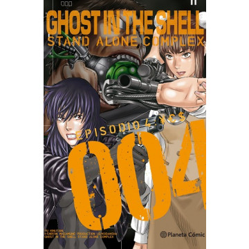 GHOST IN THE SHELL: STAND ALONE COMPLEX 04 (de 5)