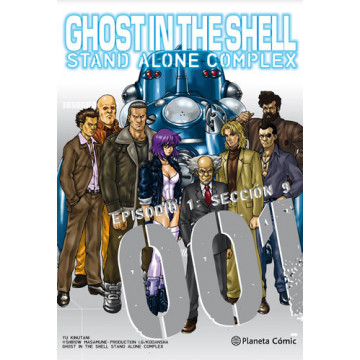 GHOST IN THE SHELL: STAND ALONE COMPLEX 01 (de 5)