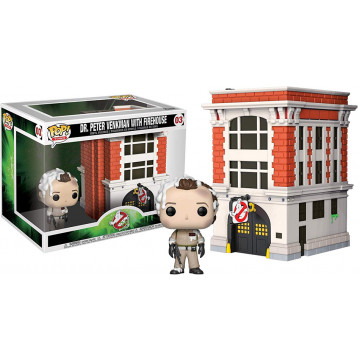 FIGURA PETER  WENKMAN WITH FIREHOUSE (GHOSTBUSTERS) -FUNKO POP