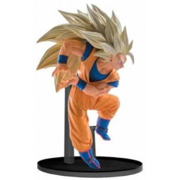 FIGURA SUPER SAIYAN GOKU 3  (DRAGON BALL Z) - SCULTURES BIG BUDOUKAI 6 VOL