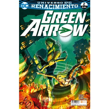 GREEN ARROW  VOL. 2 Nº 02 (Renacimiento)