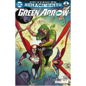 GREEN ARROW  VOL. 2 Nº 08 (Renacimiento)