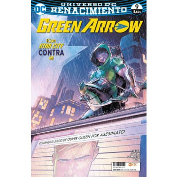 GREEN ARROW  VOL. 2 Nº 09 (Renacimiento)