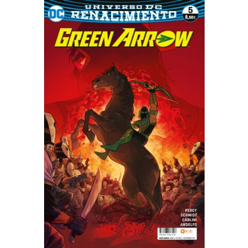 GREEN ARROW  VOL. 2 Nº 05 (Renacimiento)