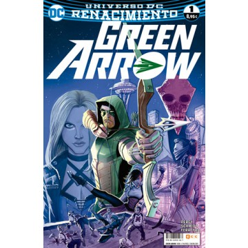 GREEN ARROW  VOL. 2 Nº 01 (Renacimiento)