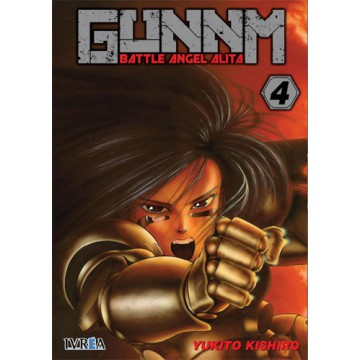 GUNNM (BATTLE ANGEL ALITA) 04