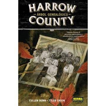 HARROW COUNTY 04: ÁRBOL GENEALÓGICO