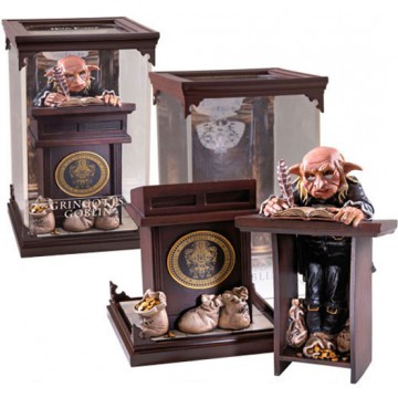 FIGURA DUENDE DE GRINGOTTS (HARRY POTTER) - COLECCION CRIATURAS MAGICAS