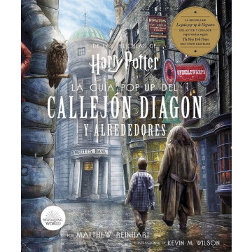 HARRY POTTER: LA GUÍA POP-UP DEL CALLEJÓN DIAGON Y ALREDEDORES