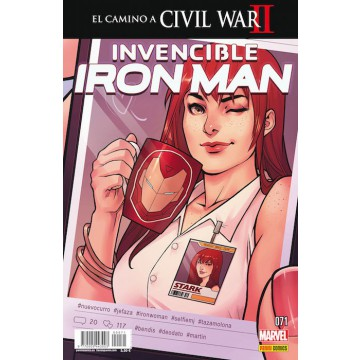 INVENCIBLE IRON MAN 71