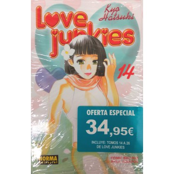 PACK LOVE JUNKIES 14 A 26