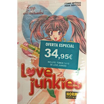 PACK LOVE JUNKIES 1 A 13
