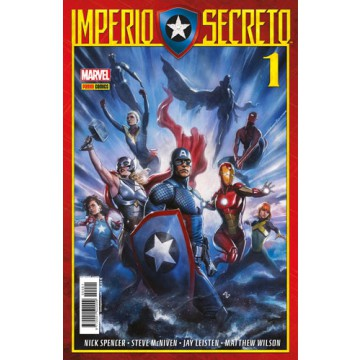 IMPERIO SECRETO 01 (Portada alternativa)