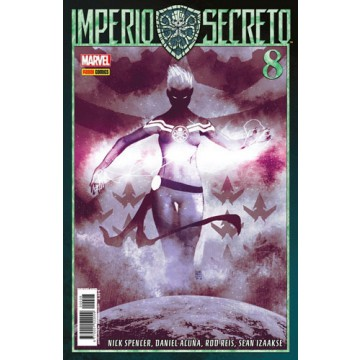 IMPERIO SECRETO 08 (PORTADA ALTERNATIVA)