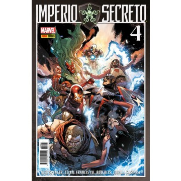 IMPERIO SECRETO 04 (Portada alternativa)