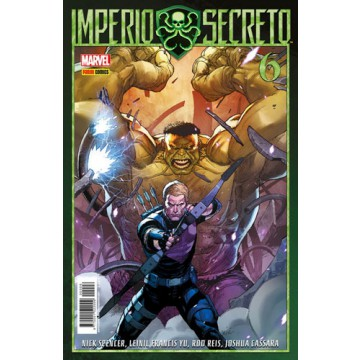 IMPERIO SECRETO 06 (Portada alternativa)