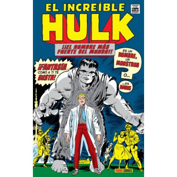 EL INCREÍBLE HULK 01 (Marvel Gold Omnibus)