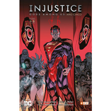 INJUSTICE: GODS AMONG US AÑO CINCO VOL. 01 (DE 3)